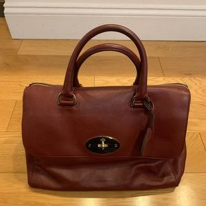 Authentic Mulberry Del Rey Leather Tote
